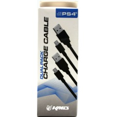 KMD Charge Cable for PS4 (10 pies)