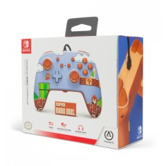 Control PowerA Switch Wired (Red Mario Figurine)