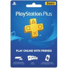 3-Month Playstation Plus Membership