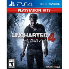 Uncharted 4: A Thief's End Hits