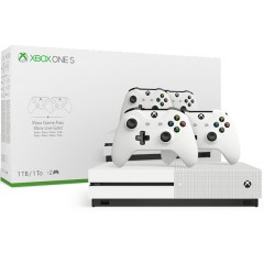 Xbox One S 1TB (2 CONTROLLERS )